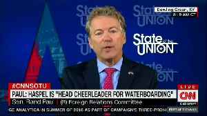 News video: Sen. Rand Paul: People 'Eager for War' Shouldn't Be Running State Department or CIA