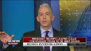 News video: Gowdy:'If You Have An Innocent Client, Act Like It'