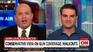 News video: Shapiro Slams CNN to Their Faces For Inviting Parkland Students On Shows to Push Gun Control
