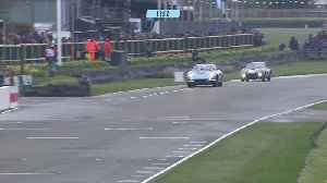 News video: Incredible sideways 911 battle at Goodwood