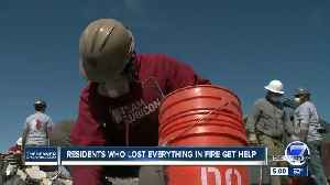 News video: Task force comprised of mostly war veterans helps Elbert County wildfire victims