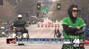 News video: Thousands brave chilly weather to celebrate St. Patrick's Day