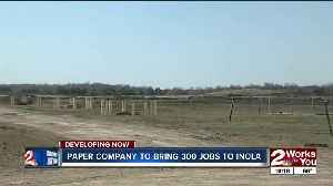 News video: Paper company to bring 300 jobs to Inola