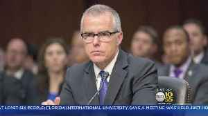 News video: McCabe Not Going Quietly