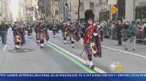 News video: St. Patrick's Day Parade Marches Through Manhattan