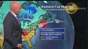 News video: WBZ Evening Forecast For March 17