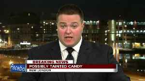 News video: New London Police warn of possible tainted candy