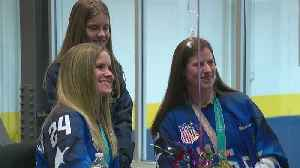 News video: Plymouth Welcomes Home Gold Medal Hockey Players