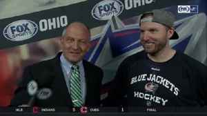 News video: Thomas Vanek enjoying the ride with Columbus