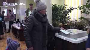 News video: Voting underway in Russian presidential election
