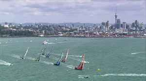 News video: Leg 7 of the Volvo Ocean Race starts in Auckland