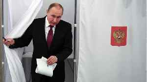 News video: Vladimir Putin Focuses On Voter Turnout In Presidential Elections