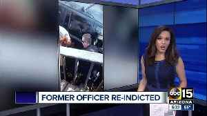 News video: Former Flagstaff officer re-indicted