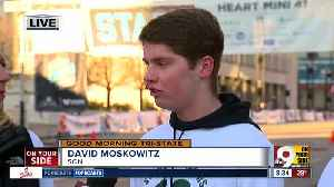 News video: At Cincinnati's Heart Mini, stroke survivor David Moskowitz says 'there is always hope'