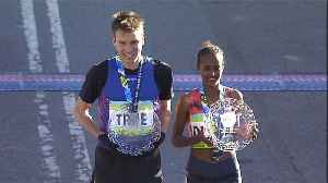 News video: True and Dibaba win the New York Half Marathon