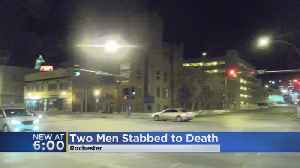 News video: 2 Dead After Stabbing In Rochester