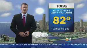 News video: CBSMiami.com Weather @ Your Desk 3-18-18 10AM