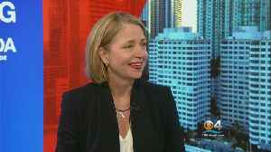 News video: Facing South Florida: One-On-One With Congressional Candidate Mary Barzee Flores