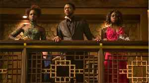 News video: 'Black Panther' Tops $600 Million