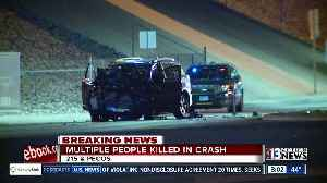 News video: Stolen vehicle involved in deadly crash