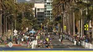 News video: Runners rejoice in completing the L.A. Marathon