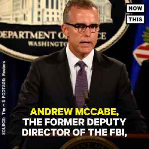 News video: Deputy FBI Director Andrew McCabe Fired