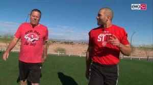 News video: 'Gym Day with Jim Day' is now a reality for Joey Votto