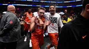 News video: No. 11 Syracuse Defeats No.3 Michigan State For Spot In Sweet 16