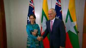 News video: Turnbull to talk human rights with Aung San Suu Kyi