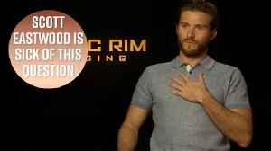News video: Stop asking Scott Eastwood about Star Wars