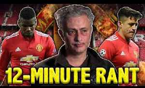 News video: Have The Manchester United Players Turned On Jose Mourinho After INSANE Press Conference? | W&L