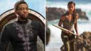 News video: 'Black Panther' Beats 'Tomb Raider' at Weekend Box Office With $27M | THR News