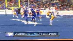 News video: DeAndre Pierce is hoping for another solid year