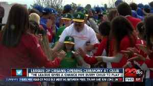 News video: League of Dreams Opening Day ceremony at CSUB