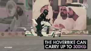 News video: These Hoverbikes Could Soon Be Used By Police In Dubai