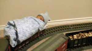 "News video: ""Baby's First Train Ride"""