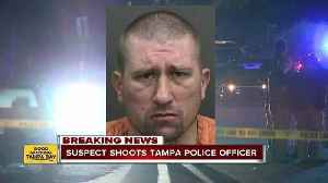 News video: Tampa Police officer shot while serving warrant