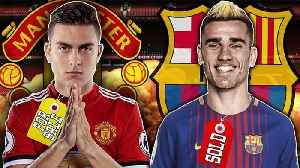 News video: Manchester United Ready To Spend £200M On Paulo Dybala After Griezmann Snub!   Transfer Talk