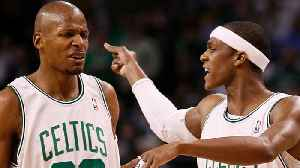 """News video: Rajon Rondo FIRES SHOTS At Ray Allen: """"He Just Needs Attention!"""""""