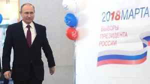 News video: Russian Voters Hand Putin A Broad New Mandate