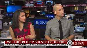 News video: Parkland Students Claim the NRA Has Been 'Basically Threatening Us'