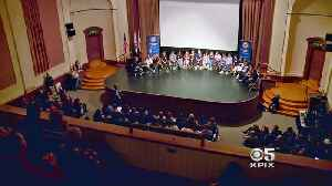 News video: High School Students Grapple with Gun Violence at Sunday Summit in San Rafael