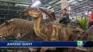 News video: Dinosaurs descend on Cal Expo for 3-day exhibit