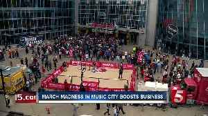 News video: Business In Music City Boosted By March Madness