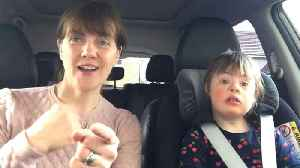 News video: 50 Moms and Toddlers Who Have Down Syndrome Lip-Sync in 'Carpool Karaoke'