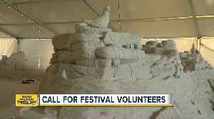 News video: Volunteers needed for Sugar Sand Festival in Clearwater
