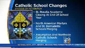 News video: 1 Catholic Elementary School Closing, Others Merging For 2018-19 School Year