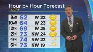 News video: Monday Morning Weather Forecast With Jeff Jamison