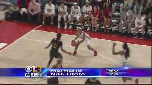 News video: UMD Falls To NC State, Misses Women's Sweet 16