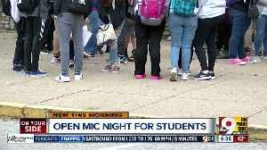 News video: PG Sittenfeld talks students' open mic night and Harry Black vs. Mayor John Cranley saga